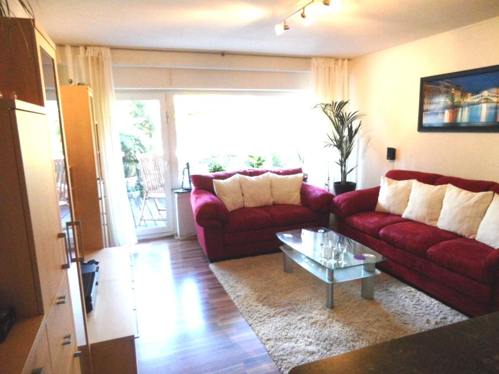 hochwertige 2 z wohnung inkl ebk und kamin mit gro er terrasse auch ideale kapitalanlage in. Black Bedroom Furniture Sets. Home Design Ideas